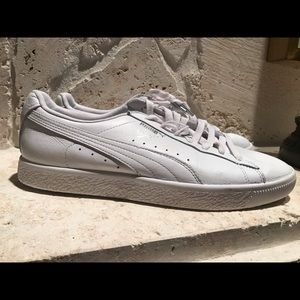 White Puma Clyde Men Sneaker
